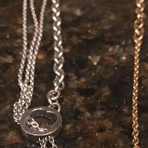 18k gold Louis Vuitton necklaces